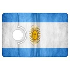 Argentina Texture Background Kindle Fire HDX Flip 360 Case
