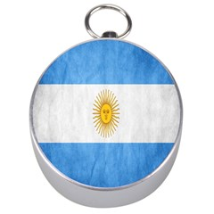 Argentina Texture Background Silver Compasses