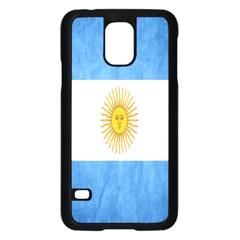 Argentina Texture Background Samsung Galaxy S5 Case (Black)