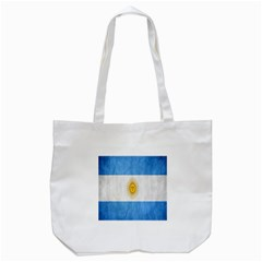 Argentina Texture Background Tote Bag (white)