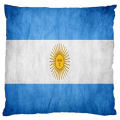 Argentina Texture Background Large Flano Cushion Case (One Side)