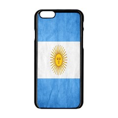 Argentina Texture Background Apple iPhone 6/6S Black Enamel Case