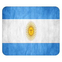 Argentina Texture Background Double Sided Flano Blanket (small)