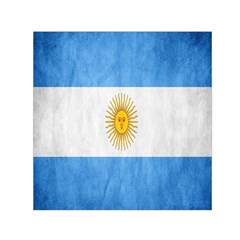 Argentina Texture Background Small Satin Scarf (Square)