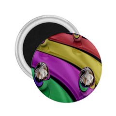 Balloons Colorful Rainbow Metal 2 25  Magnets