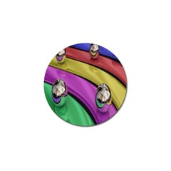 Balloons Colorful Rainbow Metal Golf Ball Marker (10 pack)