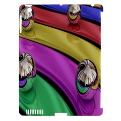 Balloons Colorful Rainbow Metal Apple iPad 3/4 Hardshell Case (Compatible with Smart Cover)