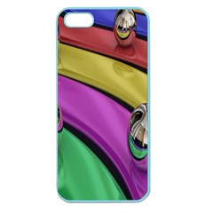 Balloons Colorful Rainbow Metal Apple Seamless iPhone 5 Case (Color)