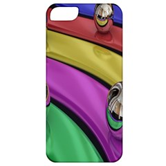 Balloons Colorful Rainbow Metal Apple iPhone 5 Classic Hardshell Case