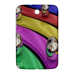 Balloons Colorful Rainbow Metal Samsung Galaxy Note 8.0 N5100 Hardshell Case