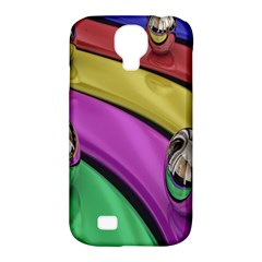 Balloons Colorful Rainbow Metal Samsung Galaxy S4 Classic Hardshell Case (PC+Silicone)