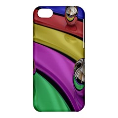 Balloons Colorful Rainbow Metal Apple iPhone 5C Hardshell Case