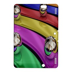 Balloons Colorful Rainbow Metal Kindle Fire HDX 8.9  Hardshell Case