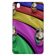 Balloons Colorful Rainbow Metal Samsung Galaxy Tab Pro 8.4 Hardshell Case