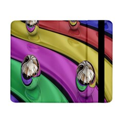 Balloons Colorful Rainbow Metal Samsung Galaxy Tab Pro 8 4  Flip Case
