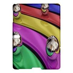 Balloons Colorful Rainbow Metal Samsung Galaxy Tab S (10.5 ) Hardshell Case