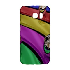 Balloons Colorful Rainbow Metal Galaxy S6 Edge