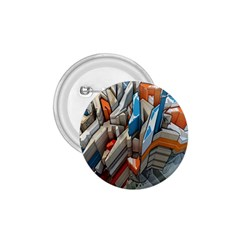 Abstraction Imagination City District Building Graffiti 1 75  Buttons