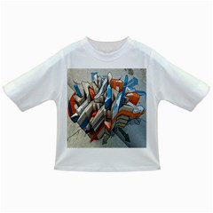 Abstraction Imagination City District Building Graffiti Infant/toddler T Shirts