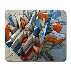 Abstraction Imagination City District Building Graffiti Large Mousepads