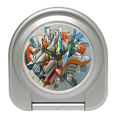 Abstraction Imagination City District Building Graffiti Travel Alarm Clocks