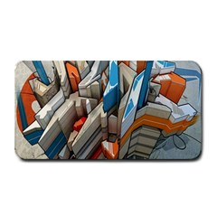 Abstraction Imagination City District Building Graffiti Medium Bar Mats