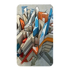 Abstraction Imagination City District Building Graffiti Memory Card Reader