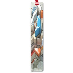 Abstraction Imagination City District Building Graffiti Large Book Marks