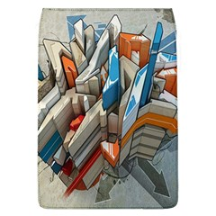 Abstraction Imagination City District Building Graffiti Flap Covers (l)