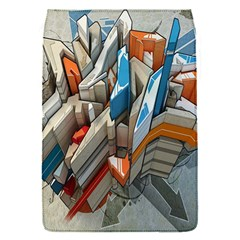 Abstraction Imagination City District Building Graffiti Flap Covers (S)