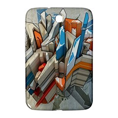 Abstraction Imagination City District Building Graffiti Samsung Galaxy Note 8.0 N5100 Hardshell Case