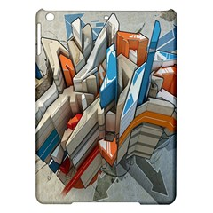 Abstraction Imagination City District Building Graffiti iPad Air Hardshell Cases
