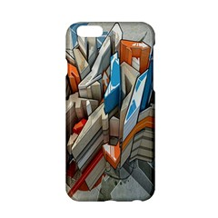Abstraction Imagination City District Building Graffiti Apple iPhone 6/6S Hardshell Case