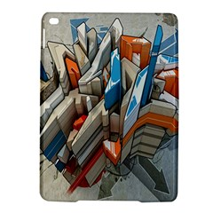 Abstraction Imagination City District Building Graffiti Ipad Air 2 Hardshell Cases