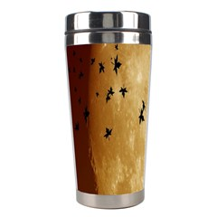Birds Sky Planet Moon Shadow Stainless Steel Travel Tumblers