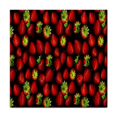 Berry Strawberry Many Tile Coasters