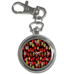 Berry Strawberry Many Key Chain Watches