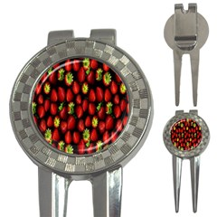 Berry Strawberry Many 3-in-1 Golf Divots