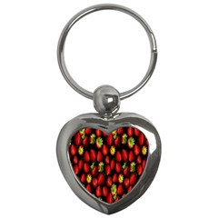 Berry Strawberry Many Key Chains (Heart)