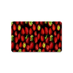 Berry Strawberry Many Magnet (Name Card)