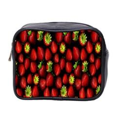 Berry Strawberry Many Mini Toiletries Bag 2-Side