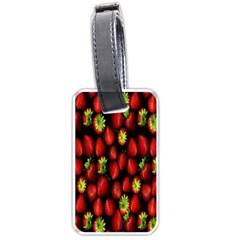 Berry Strawberry Many Luggage Tags (two Sides)