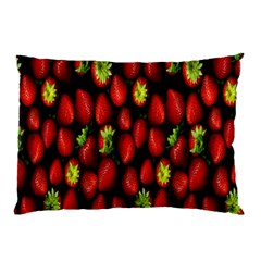 Berry Strawberry Many Pillow Case (Two Sides)