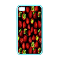Berry Strawberry Many Apple Iphone 4 Case (color)