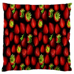 Berry Strawberry Many Large Cushion Case (Two Sides)