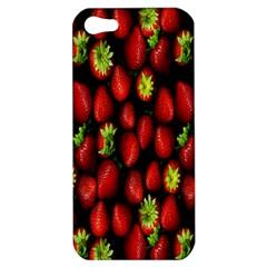 Berry Strawberry Many Apple iPhone 5 Hardshell Case