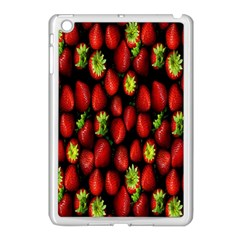 Berry Strawberry Many Apple iPad Mini Case (White)