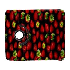 Berry Strawberry Many Galaxy S3 (Flip/Folio)
