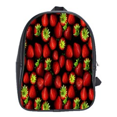 Berry Strawberry Many School Bags (XL)