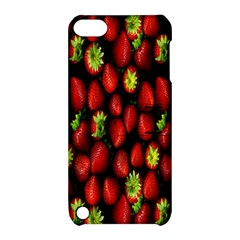 Berry Strawberry Many Apple iPod Touch 5 Hardshell Case with Stand